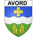 Stickers coat of arms Avord adhesive sticker