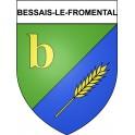 Bessais-le-Fromental 18 ville Stickers blason autocollant adhésif