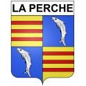 Stickers coat of arms La Perche adhesive sticker