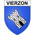 Stickers coat of arms Vierzon adhesive sticker