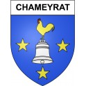 Stickers coat of arms Chameyrat adhesive sticker