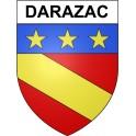 Darazac 19 ville Stickers blason autocollant adhésif