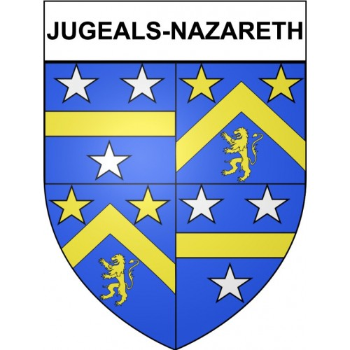 Jugeals-Nazareth 19 ville Stickers blason autocollant adhésif