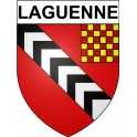 Stickers coat of arms Laguenne adhesive sticker