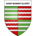 Saint-Bonnet-Elvert 19 ville Stickers blason autocollant adhésif