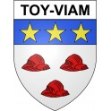 Stickers coat of arms Toy-Viam adhesive sticker