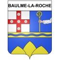 Baulme-la-Roche 21 ville Stickers blason autocollant adhésif