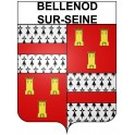 Stickers coat of arms Bellenod-sur-Seine adhesive sticker