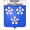 Stickers coat of arms Bessey-lès-Cîteaux adhesive sticker