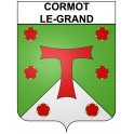 Stickers coat of arms Cormot-le-Grand adhesive sticker