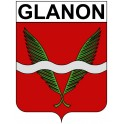 Stickers coat of arms Glanon adhesive sticker