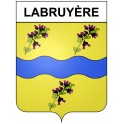 Stickers coat of arms Labruyère adhesive sticker