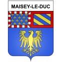 Maisey-le-Duc 21 ville Stickers blason autocollant adhésif