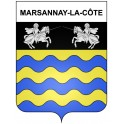 Marsannay-la-Côte 21 ville Stickers blason autocollant adhésif