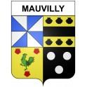 Mauvilly 21 ville Stickers blason autocollant adhésif