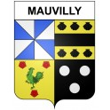Stickers coat of arms Mauvilly adhesive sticker