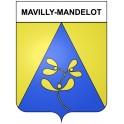 Mavilly-Mandelot 21 ville Stickers blason autocollant adhésif