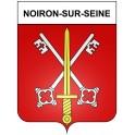 Noiron-sur-Seine 21 ville Stickers blason autocollant adhésif