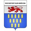 Stickers coat of arms Rochefort-sur-Brévon adhesive sticker