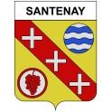 Santenay 21 ville Stickers blason autocollant adhésif