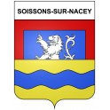 Stickers coat of arms Soissons-sur-Nacey adhesive sticker