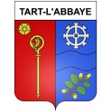 Stickers coat of arms Tart-l'Abbaye adhesive sticker