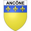 Stickers coat of arms Ancône adhesive sticker