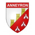 Stickers coat of arms Anneyron adhesive sticker
