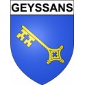 Stickers coat of arms Geyssans adhesive sticker