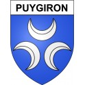 Stickers coat of arms Puygiron adhesive sticker