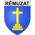 Stickers coat of arms Rémuzat adhesive sticker