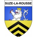 Stickers coat of arms Suze-la-Rousse adhesive sticker