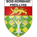 Stickers coat of arms Bois-Normand-près-Lyre adhesive sticker