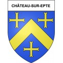 Stickers coat of arms Château-sur-Epte adhesive sticker