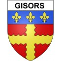 Stickers coat of arms Gisors adhesive sticker