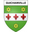 Stickers coat of arms Guichainville adhesive sticker