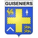 Bazas Sticker wappen, gelsenkirchen, augsburg, klebender aufkleber