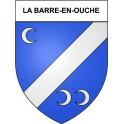 La Barre-en-Ouche 27 ville Stickers blason autocollant adhésif