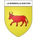 Stickers coat of arms La Bonneville-sur-Iton adhesive sticker