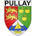 Stickers coat of arms Pullay adhesive sticker