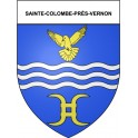Stickers coat of arms Sainte-Colombe-près-Vernon adhesive sticker