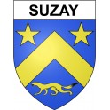 Stickers coat of arms Suzay adhesive sticker