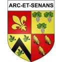 Arc-et-Senans 25 ville Stickers blason autocollant adhésif