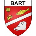 Stickers coat of arms Bart adhesive sticker