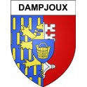 Stickers coat of arms Dampjoux adhesive sticker