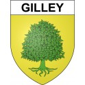 Stickers coat of arms Gilley adhesive sticker