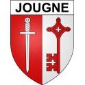 Stickers coat of arms Jougne adhesive sticker