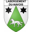 Stickers coat of arms Labergement-du-Navois adhesive sticker