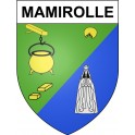 Stickers coat of arms Mamirolle adhesive sticker