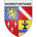 Stickers coat of arms Noirefontaine adhesive sticker